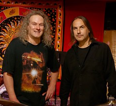 Andy Janowiak and James Popik recording percussion for the Sourland Symphony Project (hopetownsound) Tags: music drums drum percussion acoustic doylestown drumming producer buckscounty recording recordingstudio sonor phillymusic