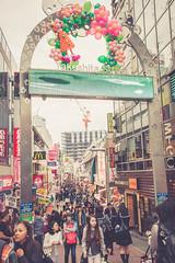 Harajuku, The One We Have to Conquer! (buttiesqueak) Tags: japan tokyo sony harajuku tamron takeshitastreet tamron1750mm sonya550