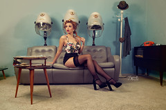 Pinups with Ellie at Retrosexual: At the hairdresser's, waiting (SpirosK photography) Tags: portrait vintage ellie hairdresser pinup hairdressers alvina retrosexual jerryscott pinupphotography spiroskphotography elisavetlatsiou ellieroussou constandinariza alvinahairstylist