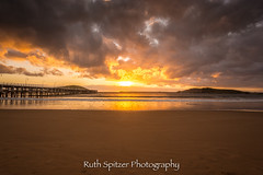 Coffs Harbour Jetty Sunrise (Ruth Spitzer) Tags: holiday seascape beach sunrise landscape photography december jetty australia nsw boardwalk coffs coffsharbour 2015 coffsharbourjetty ruthspitzer 2015december ruthspitzerphotography ruthiespitzer coffsbeach