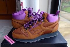 Reebok x Footpatrol Classic Leather Mid 'On the Rocks' ('13). (gooey_wooey) Tags: classic leather ltr hiking sneakers trainers kicks fp mid footpatrol reebok 2013