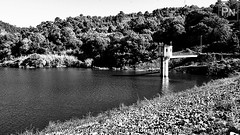 Arnoia River (Pedro Nogueira Photography) Tags: blackandwhite bw portugal rio river photography outdoor dam mobilephone barragem telemvel iphone5 iphoneography pedronogueira pedronogueiraphotography arniariver