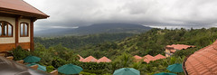 Panoramic view from The Springs Resort & Spa, La Fortuna, Costa Rica (maxunterwegs) Tags: panorama volcano costarica stitch pano stitched arenal alajuela lafortuna volcan vulco volcn vukan thespringsresort microsoftice thespringsresortandspa thespringsresortspa