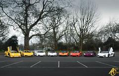 Bulls on Parade (AdamC3046) Tags: london cars car twin super turbo diablo lamborghini supercar sv gallardo supercars roadster lambo veloce 2016 heffner superveloce performante lp560 lp5604 aventador