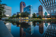 Dallas Arts District (JosephHaubert) Tags: nightphotography sunset skyline architecture composition skyscraper yahoo dallas cityscape meyerson urbanphotography naturephotography dallastx downtowndallas fountainplace dallasartsdistrict dallasskyline dallassunset uptowndallas dallasarchitecture oneartsplaza yahooweather artseek meyersonsymphonycenter stpaulplace dallasatnight winspearoperahouse dallasopera nashersculpturemuseum wylytheater chasebankdallas