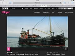 Clyde Puffer Scotland 2016 (loose_grip_99) Tags: scotland clyde ship yorkshire transport steam bbc transportation vic puffer shipyard 32 1943 preservation programme dunstans thorne vitalspark bbc4 richarddunstans