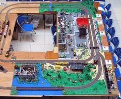 Neuffen - Birds eye view (2) (Duq) Tags: show layout lego display trains birdseyeview neuffen modelshow