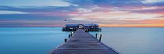 City Pier Before Sunrise (josesuro) Tags: longexposure beach digital sunrise landscapes tampabay florida piers 2016 annamariaisland leebigstopper afsnikkor28mmf18g jaspcphotography nikond750