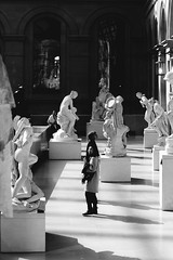 (Georges p) Tags: people blackandwhite bw paris louvre nikond700 georgespetrequin