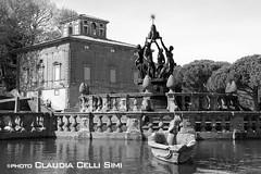 Villa Lante (Claudia Celli Simi) Tags: bw italia bn viterbo lazio parchi villalante bagnaia giardinoallitaliana cardinalgambara fontanadeiquattromori