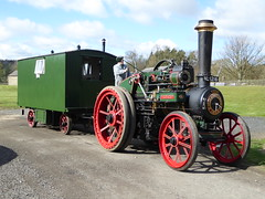 """Clayton & Shuttleworth Traction Engine 38742 """"Louise"""" (Terry Pinnegar Photography) Tags: museum traction engine steam beamish louise edwardian countydurham 38742 claytonshuttleworth nl1216"""