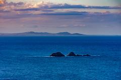 Cape Byron Sunset (Joe Caputo) Tags: ocean blue sunset sea summer vacation sky seascape nature beautiful beauty rock landscape rocks oz doug sunny australia nsw queensland noosa aussie denise aus byronbay sherri heavenonearth newsouthwhales capebyron landdownunder