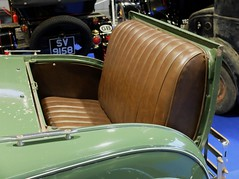 1931 FORD A Roadster vert (sige de belle-mre ,) (xavnco2) Tags: show detail green classic cars ford car club modela 1931 rumble automobile view seat part exposition autos bourse verte roadster arras 2016 spide ravera6a