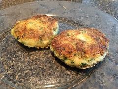 Potato burgers? (stevenbr549) Tags: food kitchen dinner dish burger creative plate potato patty fried patties