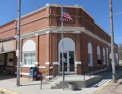 Post Office 68817 (Ashton, Nebraska) (courthouselover) Tags: nebraska ne ashton banks sandhills postoffices greatplains shermancounty polishcommunitiesintheunitedstates