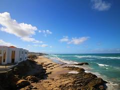 Simplicity (rita.wang27) Tags: ocean sea sky beach water clouds landscape coast seaside rocks outdoor morocco shore asilah