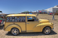 Woodies at the Beach (dmentd) Tags: wagon traveller morris minor woodie