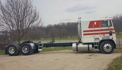 Long 1990 Freightliner (PAcarhauler) Tags: tractor truck semi coe freightliner cabover