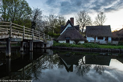 Flatford Mill, Suffolk, UK (granth2903) Tags: uk morning trees sky water clouds sunrise reflections suffolk calm tranquil waterscape flatfordmill canon1740l wwwgranthardenphotographycom sonya7ii