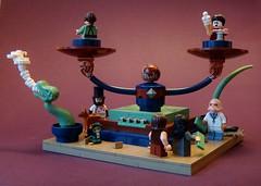 Let Off Some Steam (simplybrickingit) Tags: uk fun toys lego bricks build steampunk moc 2016
