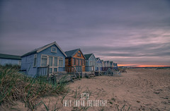 Mudeford Spit Beach huts at Dawn (Emily_Endean_Photography) Tags: sunset cold beach architecture sunrise landscape dawn coast early spring nikon colours spit huts beachhuts mudeford jurassiccoast