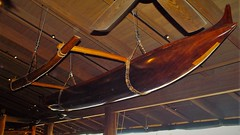 2016 April 26 - An old Out-Rigger that hangs in Duke's dinning room on Kaanapali Beach in Lahaina, Maui, Hawaii (Will Crovo) Tags: hawaii maui lahaina outrigger kaanapali 2016