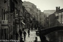 20110329_9467_Venetie-bw (Rob_Boon) Tags: venice cityscape zwartwit italie venetie cityarchitecture robboon silvefpro2