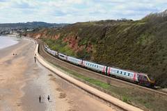 Class 22X   XC   Langstone Rock (Western Railway Photography) Tags: rock trains super class crosscountry warren voyager xc 221 220 dawlish langstone