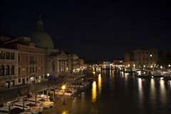 Venice at night. The Grand Canal from the Ponte deli Scalzi (JAY D DADDY) Tags: plaza travel venice italy david vatican rome roma castle museum night canon square florence long exposure italia wine zoom forum colosseum winery tuscany 5d academia 24 mm 105 toscana venezia capitoline lense 24105 piaza