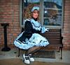 Posing (jensatin4242) Tags: sissy transvestite satin maid crossdresser petticoat frilly sissymaid jensatin