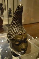 head of a queen mother, Benin, Nigeria (Mr. Russell) Tags: africa england london head mother queen nigeria benin britishmuseum