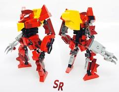 Guren MK2 Classic CodeGeas (shirokeima) Tags: anime robot code lego shiro mecha moc geass shirokeima