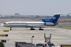 Continental Airways TU-154M RA-85146 BCN 27/08/2005 (jordi757) Tags: barcelona nikon airplanes bcn d100 avions tupolev elprat tu154 lebl continentalairways
