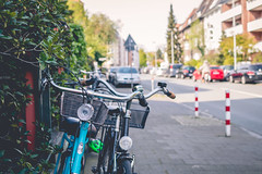 Bike love (neus_oliver) Tags: road street city travel sun love bike germany photography spring nikon day ride walk streetphotography sunny wanderlust health mnster discover kreuzviertel sunnz