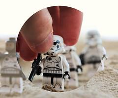 The Perfect Placement (melix200) Tags: landscape toy star sand war hand lego battle empire stormtrooper wars legostarwars blaster tatooine battlefront legotoy legomoc legomania jakku legogroup legofan legopic