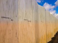 Memorial Wall - United Flight 93 (AlcyoneJR) Tags: memorial pennsylvania united national 93 shanksville