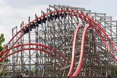 Overbank (Midgetman82) Tags: kentucky amusementpark louisville rollercoaster rmc stormchaser kentuckykingdom rockymountainconstruction