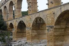 40080149 (wolfgangkaehler) Tags: bridge france water french europe european roman bridges unescoworldheritagesite aqueduct nimes pontdugard aqueducts southernfrance 2016 1stcenturyad gardonriver garddepartment