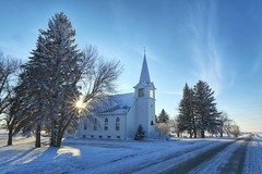Grandfield Lutheran Church (journey ej) Tags: horizonscalendar2018