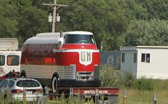 GM Futurliner (SPV Automotive) Tags: red white bus classic gm general progress parade motors futurliner