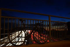 DSC03155 (adrianneukirchner) Tags: sky bike landscape photography sundown sony singlespeed fixie alpha 6000 trackbike photooftheday longtimeexposure 30mm photgrapher fixieporn