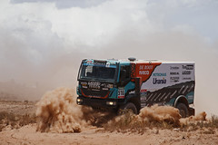 Uyuni - Uyuni 23 (IVECO) Tags: argentine offroad outdoor rally january course camion trucks dakar iveco uyuni bolivie ameriquedusud trakker rallyraid rallyeraid trakker4x4 rallyesraid