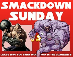 Smackdown Sunday- Absorbing Man VS Parasite (Captain Luigi) Tags: man comics dc vs marvel parasite absorbing
