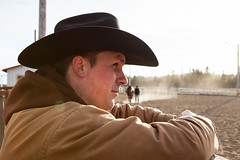 Waiting (.o0 chris 0o.) Tags: canada cowboy quebec rodeo 2010 troisrivières stmaurice cheveau