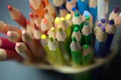 Colour Pencils (CalebLim) Tags: closeup pencils macrophotography shallowdof colourpencils