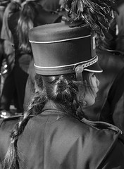 D7K_0105_ep_gs (Eric.Parker) Tags: santa november school bw music toronto drums costume uniform bell military band disney parade instrument marching christie claus musicalinstrument float bloor sousaphone santaclausparade 2015
