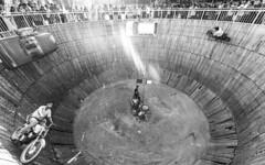 Circus (Jeyaganesh Duraimani) Tags: blackandwhite india nikon circus kerala neyyar