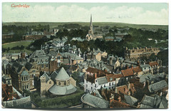 1917: Round Church and All Saints Jesus Lane (Simon_K) Tags: cambridge cambridgeshire eastanglia 1917 cambs