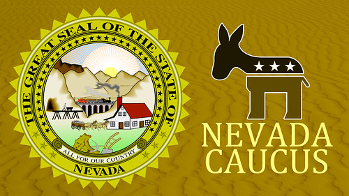 Nevada Democratic Caucus by DonkeyHotey, on Flickr