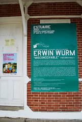 Le Pellerin, Estuaire 2007, Erwin Wurm, Misconceivable (Shooting on the edge) Tags: france art artcontemporain erwinwurm estuaire lepellerin misconceivable estuaire20072009